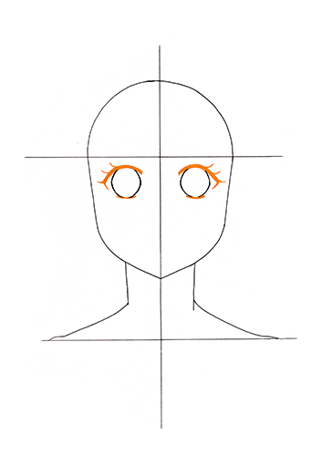 Manga Gesicht Tutorial Step 5