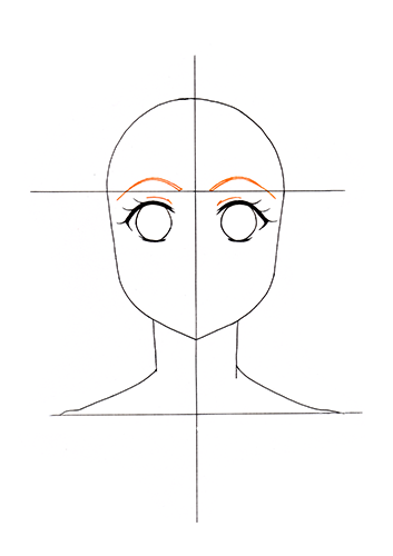 Manga Gesicht Tutorial Step 6