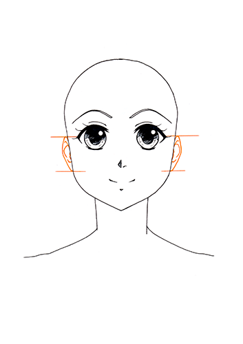 Manga Gesicht Tutorial Step 8