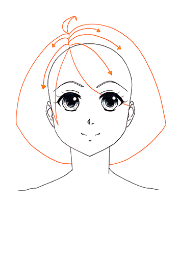 Manga Gesicht Tutorial Step 9